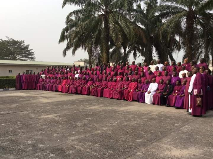 Church of Nigeria (Anglican Communion) Bishops Hold Retreat at Ibru Centre, Agbarha Otor